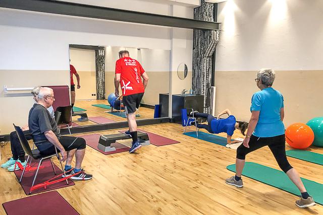 GLAD Programm Physiotherapie Schubien Aarau